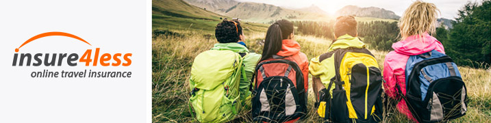 Backpackers Sitting Together